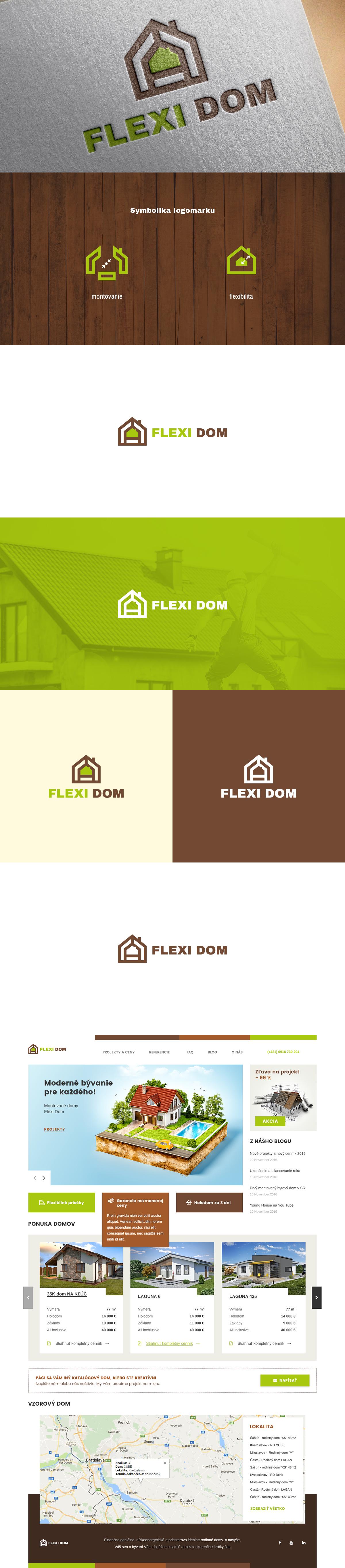 Flexi domy